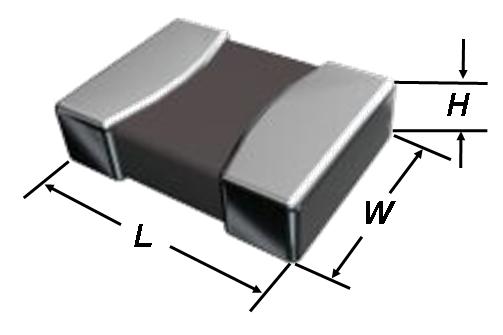 Размер L x W x H